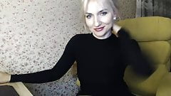 Slim MILF shows off her figure on camera and more