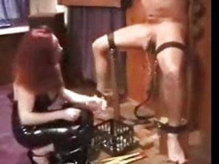 Shaved scrotums Scrotum punishment
