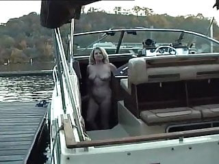 Nude sunbath - Adele nude sunbathing on the boat