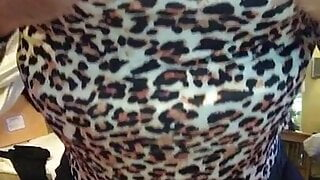 New Adventures in Leopard skins  -  Dee's first time...