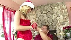 So ein geiler Nikolaus, willst du auch mal ficken ?