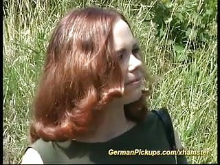 Free red head porn video - German red head pickup for porn movie