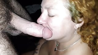 Brandy works my cock