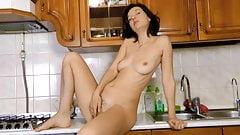 Latisha Minx Gets Hot in the Kitchen
