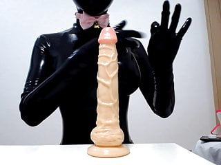 Big breast rubber Breast sex skill training for rubber doll