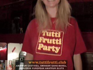 Club monica santa strip Monica, the hot big tits milf santa gangbang