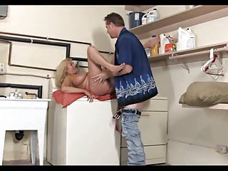 Busty mature on top - Blonde busty gilf