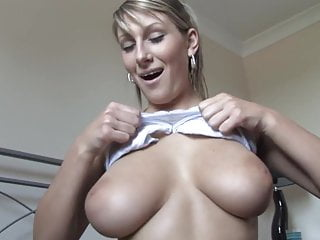 Sexy girl blouse Adorable girl teases with her tits down blouse style