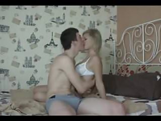 Sex during war - Hot blonde having sex during summer holidays