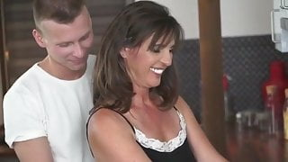 Fun with hot brunette Step Mom