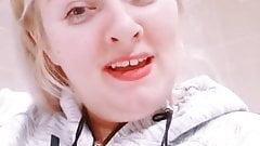 Cum on her face prt 1