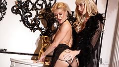 Lesbian Maid Punished