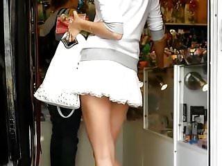 Short skirts teens - Upskirt short skirt, silk thong