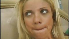 Kelly Coed ride big Dick & Facial at the and