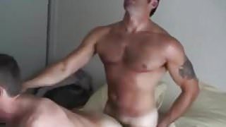 sexy NON-PROFESSIONAL homosexual sex kiss take up with the t