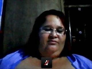 Mature mega boob Latina slut mature show her mega boobs
