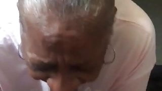 Come and grandma mouth for the $20