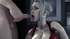 Final Fantasy Scarlet Blowjob