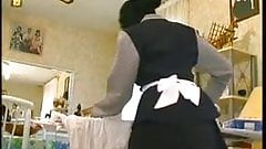 Black maid and Daddy need a young guy!