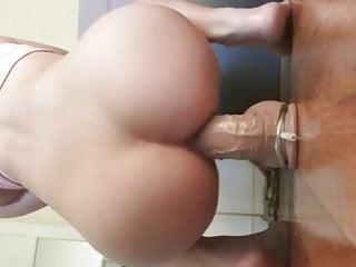 Midget taking big dick