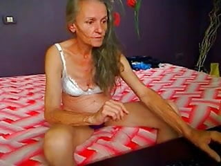 Anorexic voyeur - Freaks of nature 174 anorexic granny