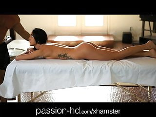 Sensual massage nude - Passion-hd sensual massage makes girl horny for cock