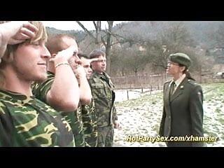 College girls bukkake Chick gets soldiers cum