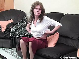 Hairy maltese girls Granny with saggy tits and hairy pussy masturbates