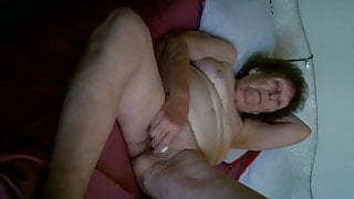 80 Year Old And Her Vibrator