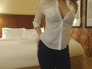 Lesbian strips in hotel room - Amateur strips in hotel room