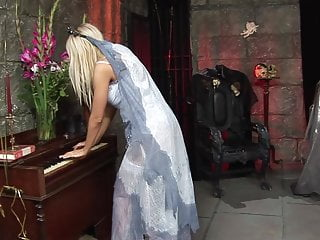 Allyson angel fucked hard - Big tits blonde princess angel fucked hard in the tomb