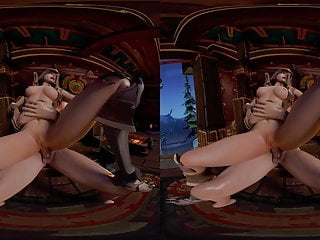 Porn hub hunter - Taming the demon hunter 3rd person - 3d vr porn movies