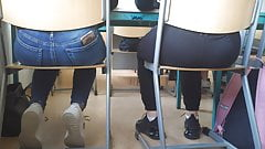 Hot Teen Asses in class