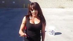 WWE LAYLA - Ice Bucket Challenge