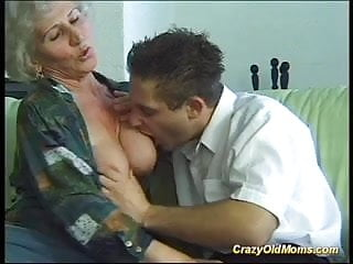 Mature oral moms Crazy old mom gets big cock oral and in pussy deep