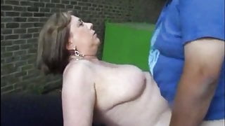 Mature whore fucked on BMW