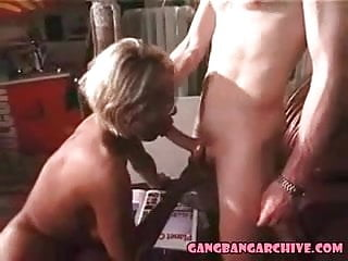 Amateur straight guys archive 2007 Gangbang archive tanned euro milf gangbanged by 4 white guys