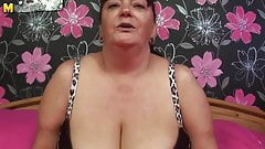 Mature BBW grandma needs a good fuck