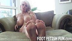 I need a dedicated slave who will worship my feet