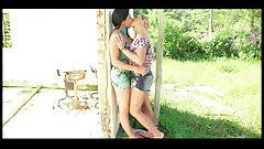 super hot babes very hot kisses