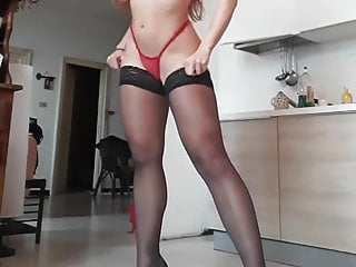 Teen In Stockings Pantyhose Tights Amazing Body And Legs