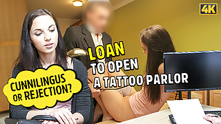 LOAN4K. Teen chick needs business loan but should work hard for it