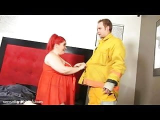 Cop fireman gay - Big tit bbw wife fucks young fireman