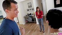 Naughty stepsister