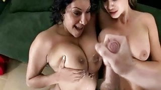 Cumming on Big Tits Combo 3