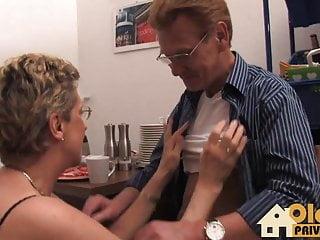 Blondes having sex - Old couple having sex