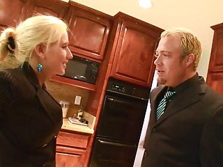 Blades of glory grab tits Dude grabs babes gorgeous breasts in the kitchen