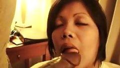 Filipina Chick Is A BBC Gobbler