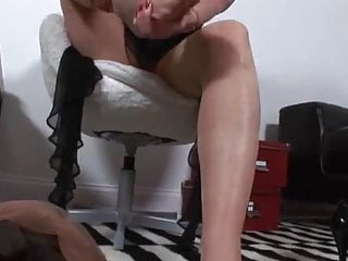 Pantyhose feet t - Pantyhose feet fucking