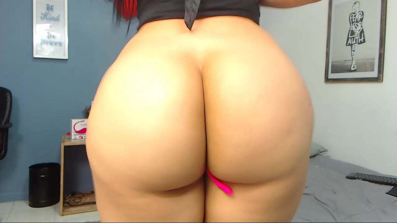 Big Ass Ebony Anal Solo